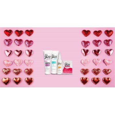 Valentin napi eladás! HAIR JAZZ sampon+ balzsam + lotion + vitaminok  -  elősegíti hajának növését!