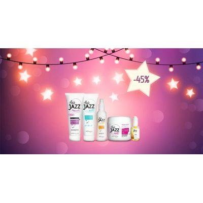 Új év eladás! HAIR JAZZ sampon+ balzsam + lotion + maszk+ hajszérum -  elősegíti hajának növését!